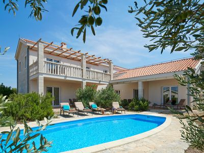 Photo for Holiday Villa with private pool on the Island of Hvar, Croatia