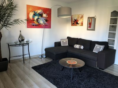 Photo for APARTMENT STANDING with parking IN PARK WITH SWIMMING POOL NEAR CROISETTE