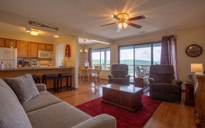 Photo for Lakeview Oasis - 2 bedroom, 2 bath condo with views of Table Rock Lake