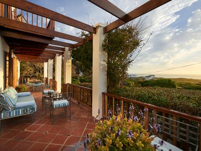 Photo for CAPE DUTCH VILLA IN 1 ACRE PROPERTY, 3 MINUTES WALK FROM THE BEACH.