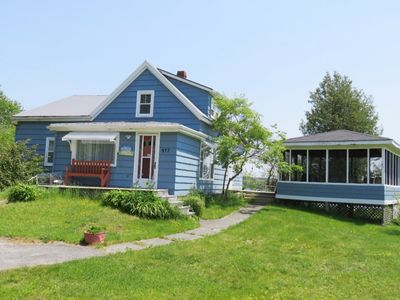 Meadow Pines Cottage in Sable River, Nova Scotia. Family friendly vacation rental.