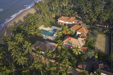 Ad Astra villas from above