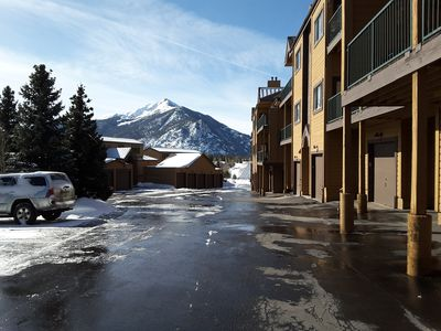 Photo for 2BR/2BA Condo Fantastic View of Lake Dillon & Mountain Range
