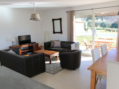 """Photo for Gîte """"ECUREUIL"""" Air-conditioned Villa with Pool, Pool-House for 6 people."""
