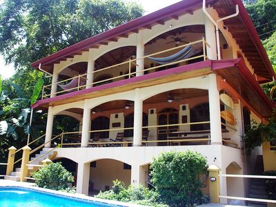 Photo for Oceanfront Home and Guest Cottage in Dominical, Costa Rica