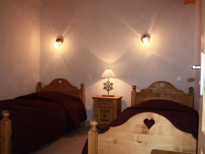 Photo for Chalet ski in ski out in Landry - Chalet 5 rooms for 10 people