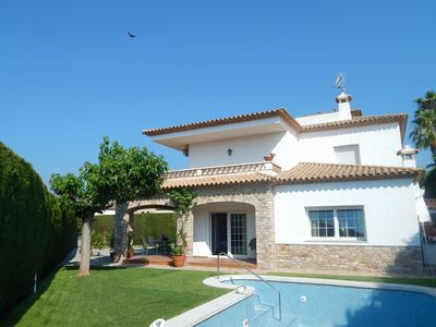 Photo for Fantastic Villa with Garden and Pool - Playa de Aro Spain