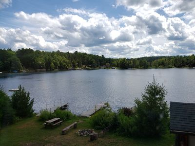 Photo for Lake Tomahawk Condo with Boat Slip