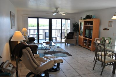 Bright end-unit with GREAT water views!