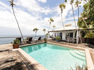 Photo for Villa Sea View - Gorgeous Cliffside Villa, Caribbean Flair, Pool, Newly Listed!