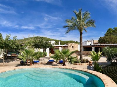 Photo for Enchanting Villa Baikal in Ibiza, with private pool, 6 bedrooms, 12 sleeps.