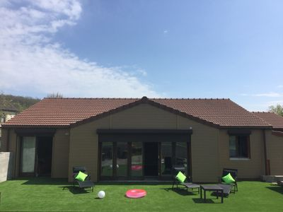 Photo for Modern Gite in Limousin with heated pool and large patio