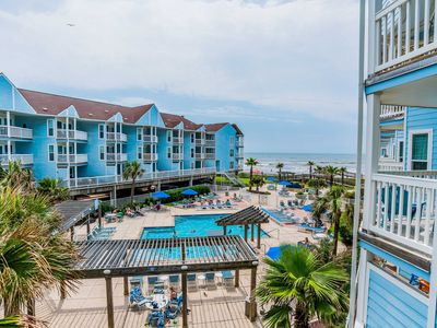 Photo for Great Views at Seascape. Just steps to pool and Gulf!