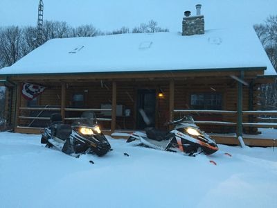 Photo for Cabin-N-the Woods, the Finest in Log Cabin Lodging
