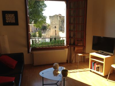 Photo for large luxury loft T2 hypercentre very sunny in the calm south, parking, view