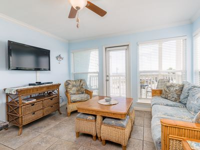 Photo for Fall Savings! 2BR Beachfront Condo w/Bunk Area