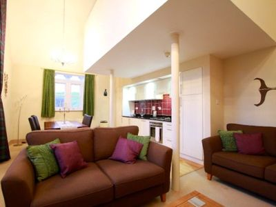Photo for Highland Club Direct Property - The Caledonian apartment in a Monastery on Loch Ness -  WiFi - Swimm
