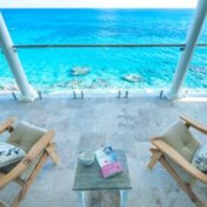 Enjoy the amazing view from the upper balcony