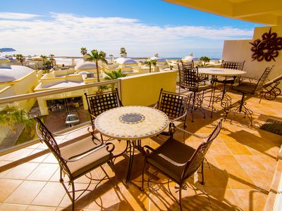 Photo for Spectacular 2 Bedroom Condo on Sandy Beach at Las Palmas Resort G-301