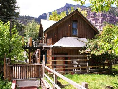 Photo for Miners' Cabin - Full kitchen, Quiet locale, Walk to everything, Pets OK with fee