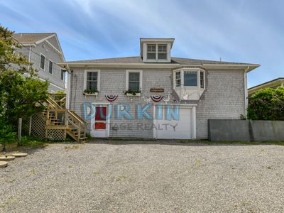 Photo for Beachfront Cottage, Beautiful Views, Stretch of Private Beach, Walk to Restaurants and Block Island Ferry