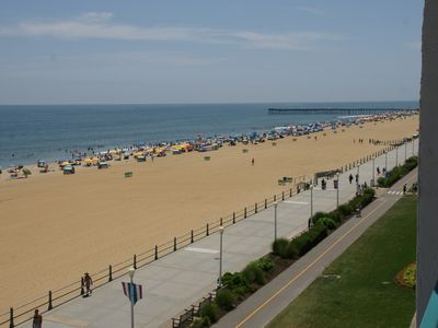 Photo for 2 Bdrm 2.5 Bath Condo, Direct Oceanfront, Beach and Boardwalk
