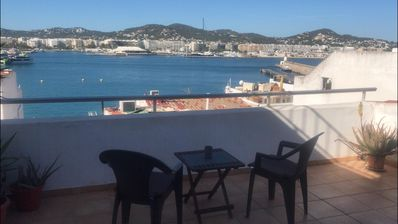 Photo for Duplex studio with wonderful views in the old town of Ibiza.