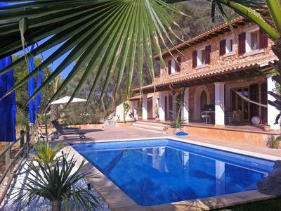 Photo for Beautiful, modern renovated stone finca in the middle of the island, for 6 person