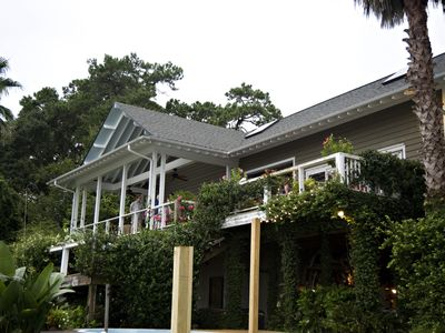 Waterfront Home - With Secluded Private Pool On Beautiful Half Moon River