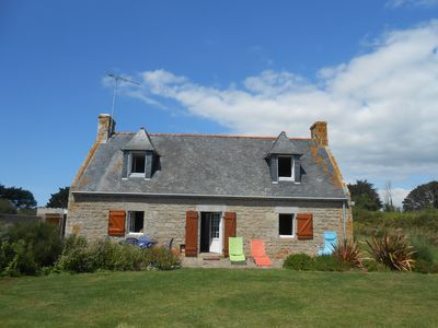 Photo for GITE at 300 meters from the sea in a protected natural area