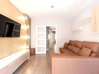 Photo for Homerez last minute deal - Big apt with balcony and Wifi