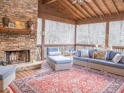Photo for Peaceful Mountain Retreat in Sapphire Valley