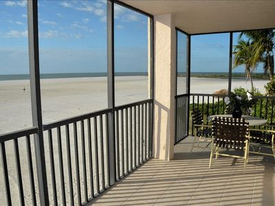 Photo for Beautiful & Updated Corner Beachfront Condo Unit in Ft. Myer's Beach