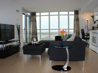 Photo for 19th Floor-2BR2BA, Downtown&Lakeshore, Stunning View, Free Parking&WiFi