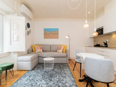 Photo for Charming blue apartment in Lisbon Downtown