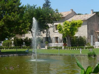 Photo for Typical MAS PROVENCAL near Isle sur la Sorgue WITH POOL and poolhouse