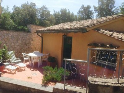 Photo for Beautiful outbuilding in the heart of Tuscany - Monte Argentario