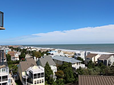 Photo for A608: 1BR Sea Colony Oceanfront Condo! Private Beach, Pools, Tennis ...