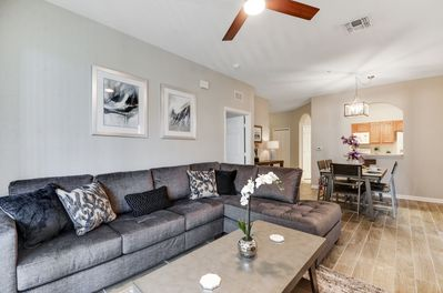 Spacious sectional