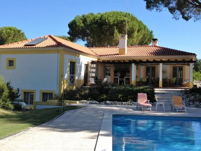 Photo for House / Villa with garden & private swimming pool at Montalvo Comporta