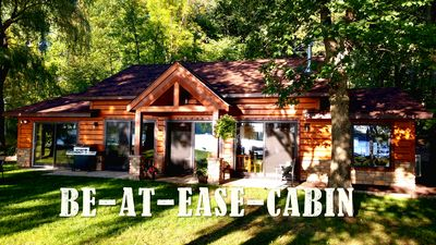 Photo for Northwoods Upscale Rustic 4 Bdrm Lakefrnt on Bone Lake Aug.  14th-20th Available