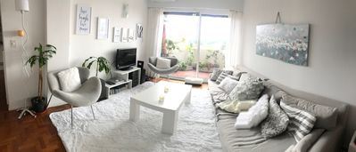 Photo for FULLY FURNISHED OPEN VIEW APT, CUTE AREA, SIMPLY LOVELY
