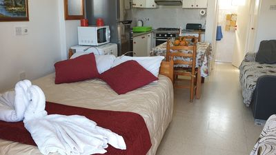 Photo for Studio First floor 50m near the sea, 28 square meters, kitchen fully equipped