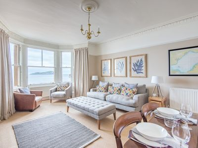 Photo for Vale End, stylish beach front flat