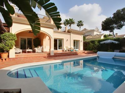 Photo for Beachside villa, 4 beds, 3baths, private pool. Last minute offer 13 to 20 July!