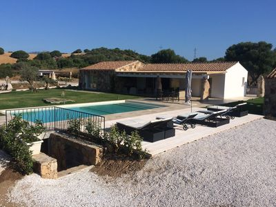 Photo for BLUE MARLIN villa with private pool 5 minutes from the Gulf of Marinella