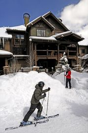 Union Creek Townhomes West, Copper Mountain, CO, USA
