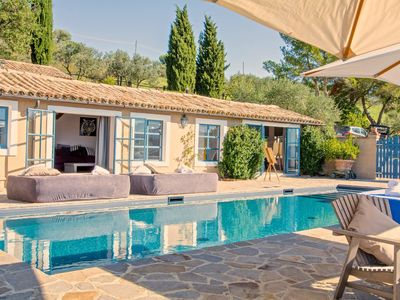 Photo for Villa Azzurra, a charming manor house, with private pool
