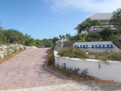 Front Entrance to Island Breeze at Grace Bay