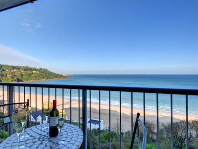 Photo for Apartment with magnificent view over Carbis Bay beach